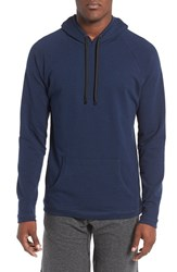 Naked Men's Stretch Terry Cotton Hoodie Dress Blues Heather