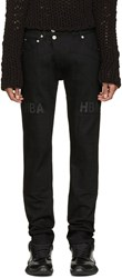 Hood By Air Black Pedro Moto Jeans