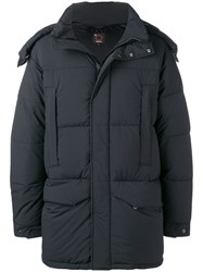 Aspesi Oversized Padded Coat Black