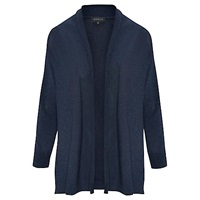 Viyella Denim Effect Cardigan Navy
