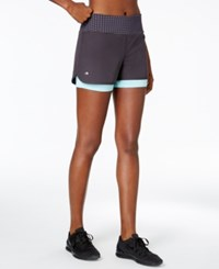 Ideology 2 In 1 Shorts Only At Macy's Deep Charcoal