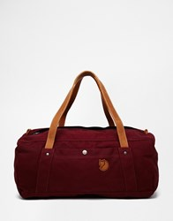 Fjall Raven Fjallraven No.4 Duffle Bag 30L Red
