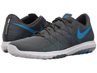 Nike Flex Fury 2 Anthracite Photo Blue Cool Grey White Men's Running Shoes Black