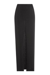 Missoni Draped Maxi Skirt Black