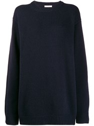 The Row Knitted Jumper Blue
