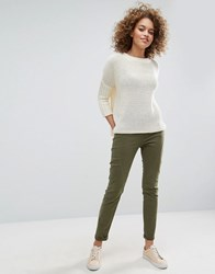 Only Lizzy Antifit Trousers Green