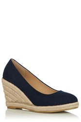 Oasis Catherine Court Wedge Navy