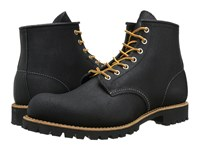 Red Wing Shoes 6 Round Toe Lug Black Spitfire Men's Lace Up Boots