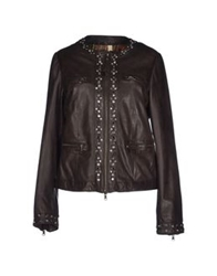 Le Sentier Jackets Dark Brown