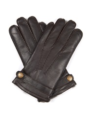 Dents Carlisle Rabbit Fur Lined Leather Gloves