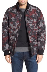 Men's Victorinox Swiss Army 'Regimen' Camo Print Down Puffer Jacket With Detachable Sleeves
