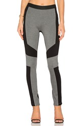 Bcbgmaxazria Colorblock Legging Grey