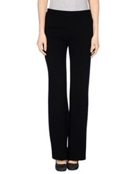 Paolo Pecora Donna Casual Pants Black