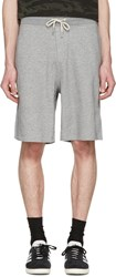 Rag And Bone Grey Standard Issue Sweat Shorts