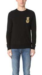 Marc Jacobs Pineapple Pal Sweater Black Combo