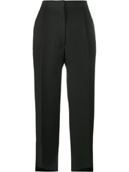 Acne Studios Iris Cropped Trousers Black