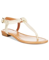 Styleandco. Style Co. Baileyy Thong Sandals Only At Macy's Women's Shoes Gold