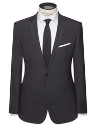 John Lewis Kin By Enno Slim Fit Stretch Plainweave Suit Jacket Black