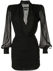 Tom Ford Fitted Mini Dress Black