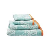 Scion Spike Towel Aqua Bath Sheet