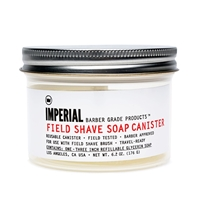 Imperial Barber Products Imperial Field Shave Soap Canister And Puck 6.2 Oz.