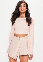 Missguided Pink D Ring Skort
