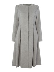 Noa Noa Long Coat Grey