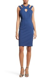 Tracy Reese Women's Harness Neck Sheath Dress