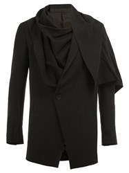 Julius Layered Blazer Black