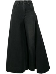 Y Project Deconstructed Skirt Jeans Black