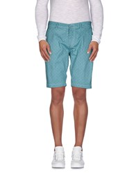 Individual Trousers Bermuda Shorts Men Deep Jade