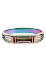 Tory Burch Women's For Fitbit Hinge Bracelet Iridescent