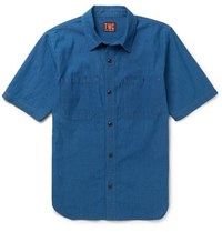 The Workers Club Denim Shirt Blue
