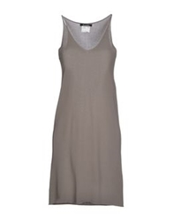 Scooterplus Short Dresses Dove Grey