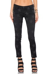 Etienne Marcel Star Skinny Black Stars Faded
