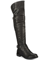 American Rag Mila Over The Knee Boots Only At Macy's Women's Shoes Black