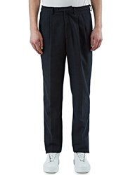 Emiliano Rinaldi Double Pence Woven Pants Black