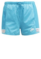 Nike Sportswear Tracksuit Bottoms Omega Blue White Light Blue