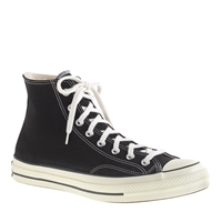 J.Crew Men's Converse Chuck Taylor All Star '70 High Top Sneakers Black