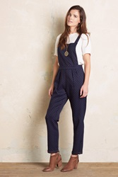 Hazel Honore Dungarees Navy