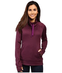 Columbia Saturday Trail Pullover Top Plum Heather Women's Clothing Purple
