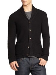 Rag And Bone Avery Shawl Cardigan Black