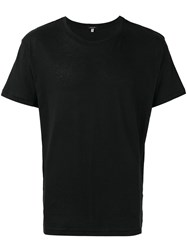 R 13 R13 Round Neck T Shirt Black