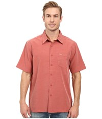 Quiksilver Centinela 4 Traditional Polynosic Woven Top Canyon Men's Clothing Multi
