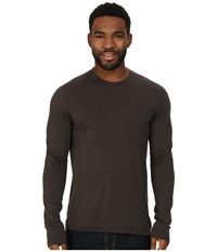Smartwool Nts Micro 150 Pattern Crew Neck Taupe Men's Long Sleeve Pullover