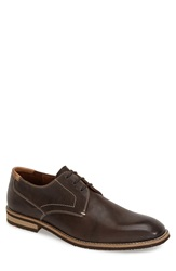 Lloyd Plain Toe Derby Open Brown