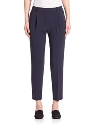 Boss Tobaluka Ankle Pants Navy