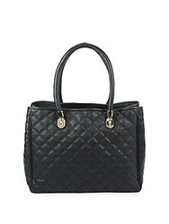 Cole Haan Benson Quilted Leather Handbag Black