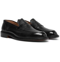 Tricker's Jason Leather Penny Loafers Black