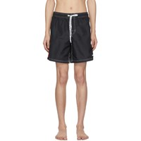 Msgm Black 'New Recharge' Swim Shorts